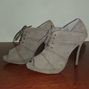 Forever Grey Heels